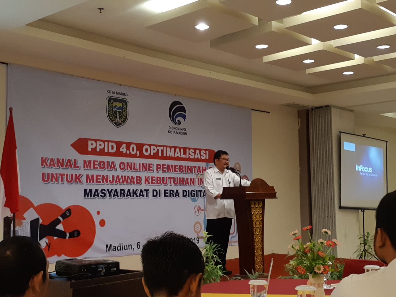 Optimalisasi Kanal Media Online di Era Digital-PPID 4.0